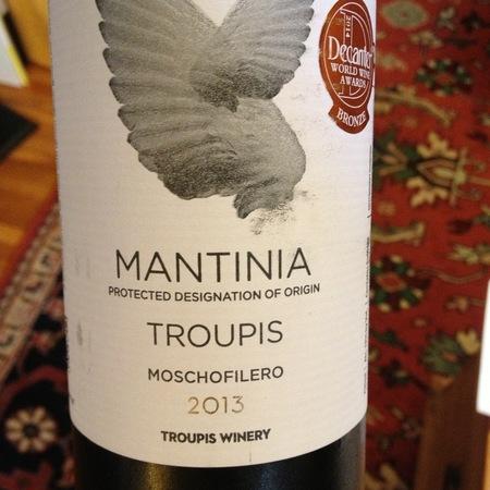 Troupis Winery Mantinia Moschofilero 2014