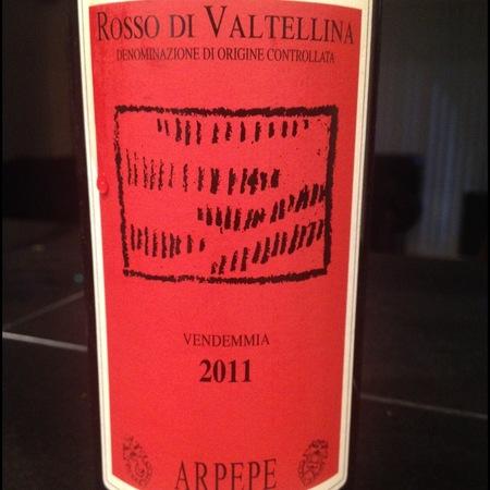 ARPEPE Rosso di Valtellina Nebbiolo 2014