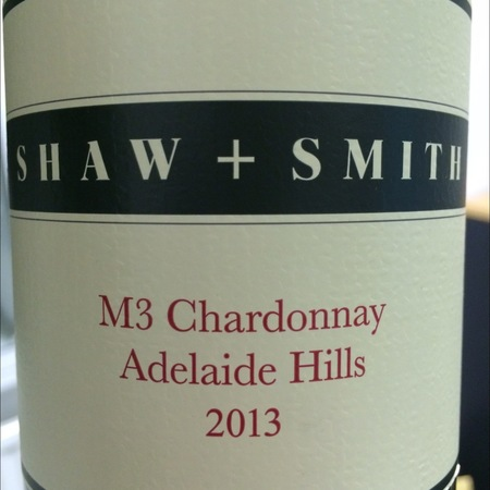 Shaw and Smith M3 Vineyard Adelaide Hills Chardonnay 2013