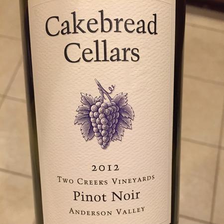 Cakebread Cellars Two Creeks Vineyards Pinot Noir 2015