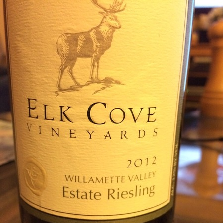 Elk Cove Vineyards Estate Willamette Valley Riesling NV