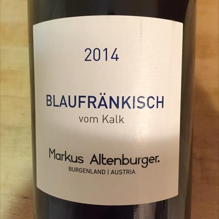Weingut Markus Altenburger vom Kalk Burgenland Bläufrankisch 2015