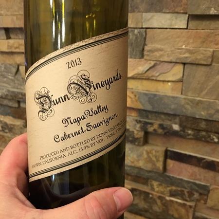 Dunn Vineyards Napa Valley Cabernet Sauvignon 2013