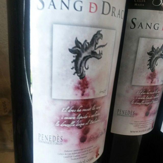 Sang D Drac Penedes Red Blend 2012