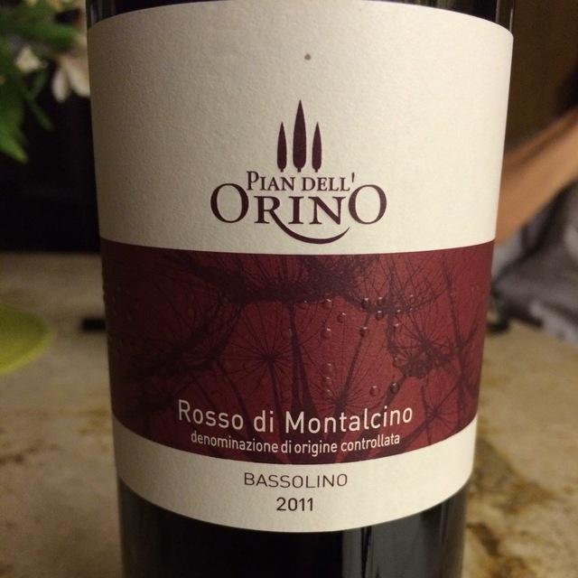 Rosso di Montalcino Sangiovese 2013