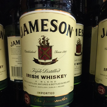 Jameson Irish Whiskey NV