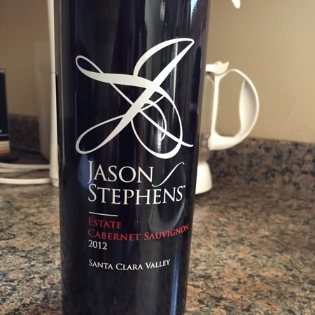 Jason Stephens Winery Estate Cabernet Sauvignon 2012