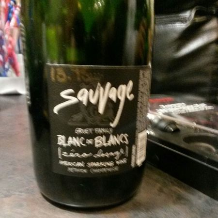Gruet Winery Sauvage Zero Dosage Blanc de Blancs Chardonnay