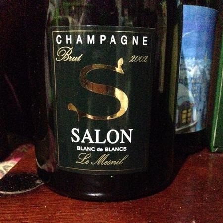 Salon 'S' Le Mesnil Brut Blanc de Blancs Champagne Chardonnay 2004
