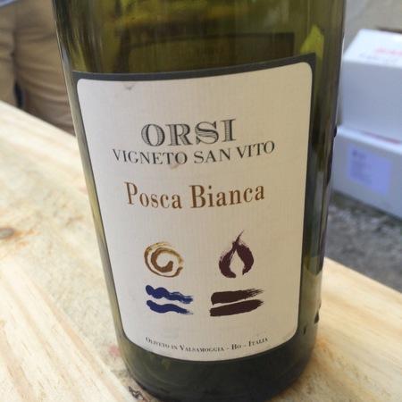 Orsi Vigneto San Vito Posca Bianca NV