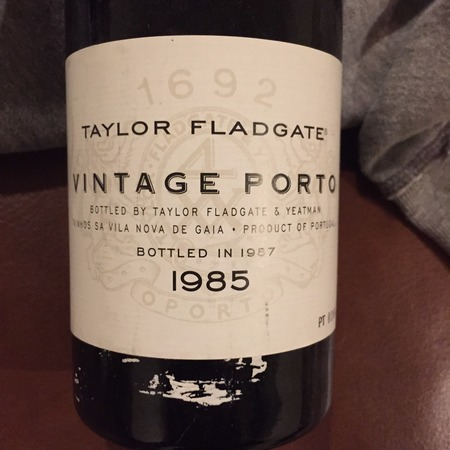 Taylor Fladgate Vintage Port Blend 1985