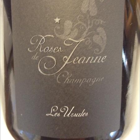 Cédric Bouchard Roses de Jeanne Les Ursules Blanc de Noirs Champagne  2013