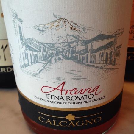 Calcagno Arcuria Etna Rosato Blend 2016