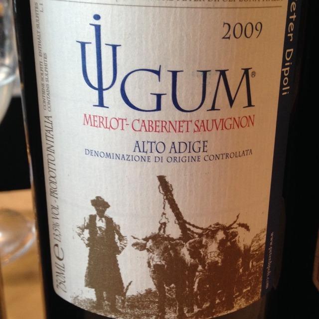 Iugum Alto Adige Merlot Cabernet Sauvignon 2009