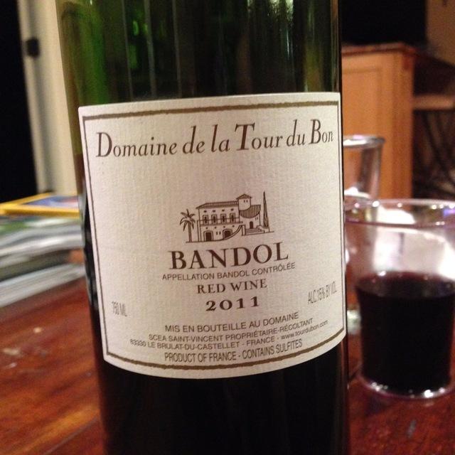 Bandol Mourvedre Blend 2011