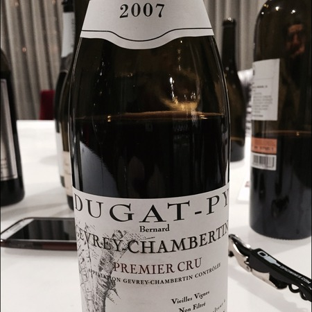 Bernard Dugat-Py Gevrey-Chambertin 1er Cru Pinot Noir 2007