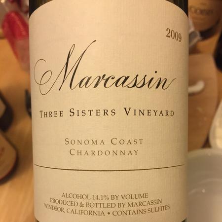Marcassin Three Sisters Vineyard Chardonnay 2009