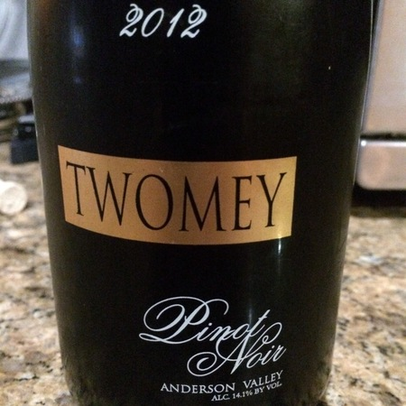 Twomey Anderson Valley Pinot Noir 2012