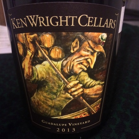 Ken Wright Cellars Guadalupe Vineyard Pinot Noir 2015