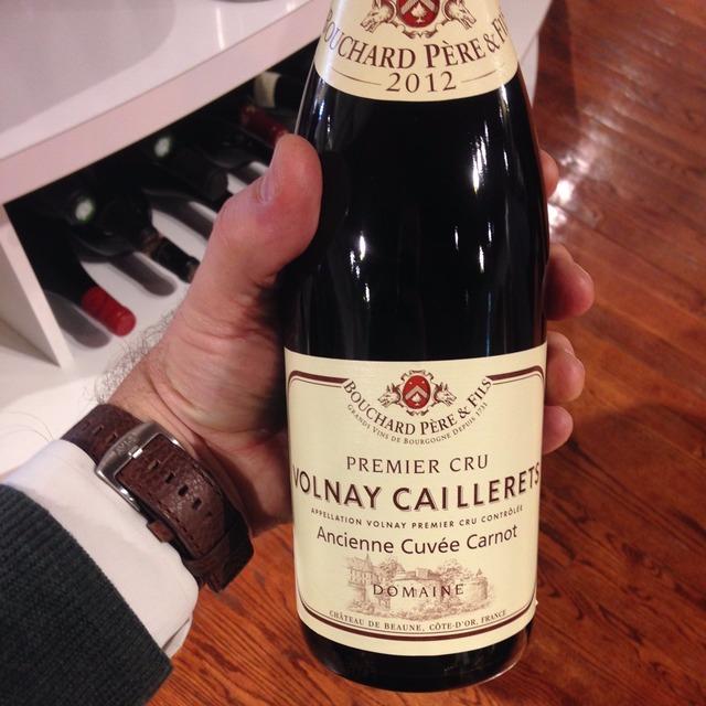 Ancienne Cuvée Carnot Caillerets Volnay 1er Cru Pinot Noir 2012