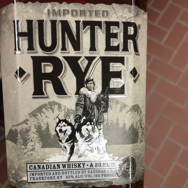 Hunter Canadian Rye Whisky NV