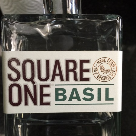 Square One Basil Organic Rye Vodka NV
