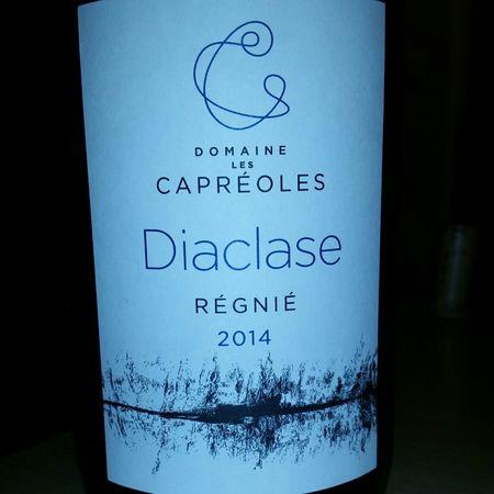 Domaine les Capréoles Diaclase Régnié Gamay
