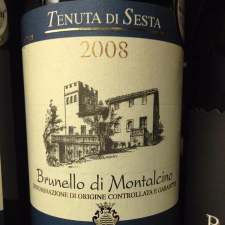 Tenuta di Sesta Brunello di Montalcino Sangiovese 2011