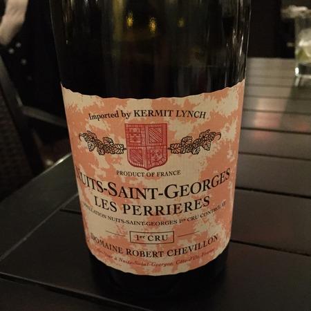 Domaine Robert Chevillon Les Perrières Nuits St. Georges 1er Cru Pinot Noir 1994