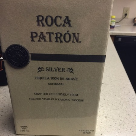 Roca Patron Silver Tequila de Agave NV