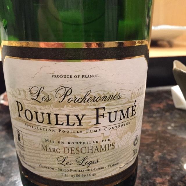 Cuvée les Porcheronnes Les Loges Pouilly-Fumé Sauvignon Blanc 2012