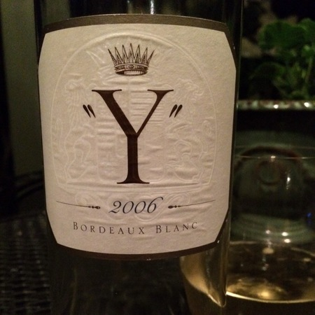 Château d'Yquem Y Ygrec Sémillon-Sauvignon Blanc Blend 2006
