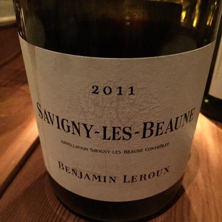 Benjamin Leroux Savigny-lès-Beaune Pinot Noir 2015