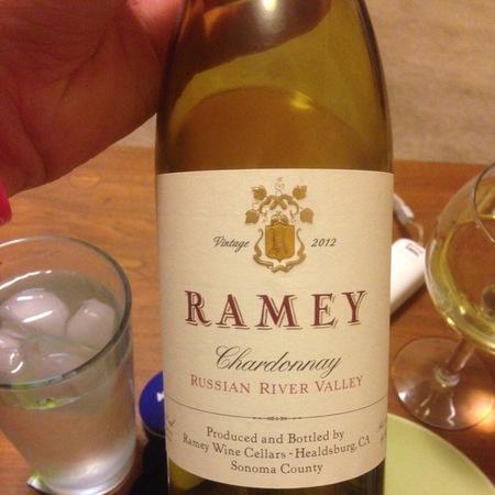 Ramey Wine Cellars Sonoma Coast Chardonnay 2012