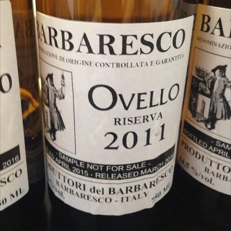 Produttori del Barbaresco Ovello Riserva Barbaresco Nebbiolo 2011