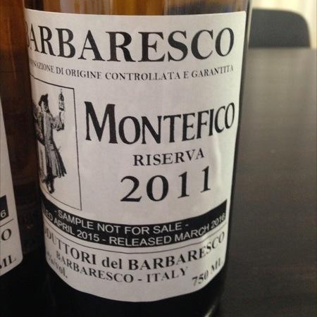 Produttori del Barbaresco Montefico Riserva Barbaresco Nebbiolo 2011