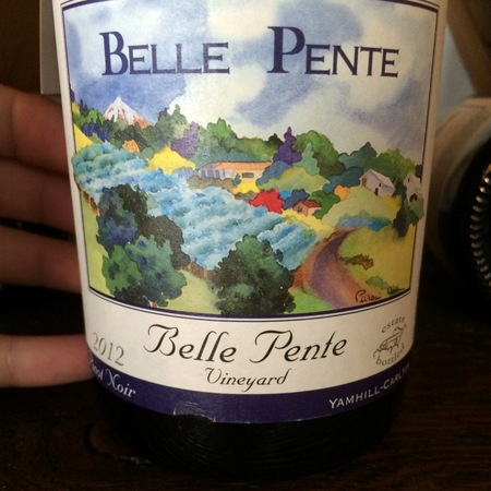 Belle Pente Belle Pente Vineyard Pinot Noir 2012