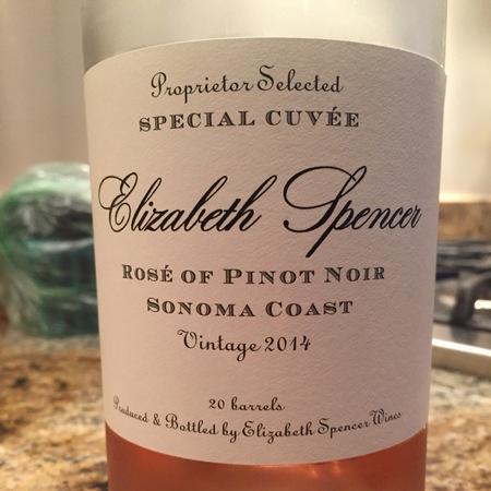 Elizabeth Spencer Special Cuvée Proprietor Blended Napa Valley Cabernet Sauvignon 2014