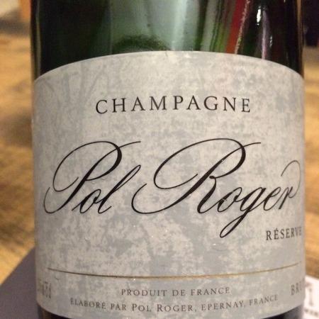 Pol Roger Réserve Brut Champagne Blend NV