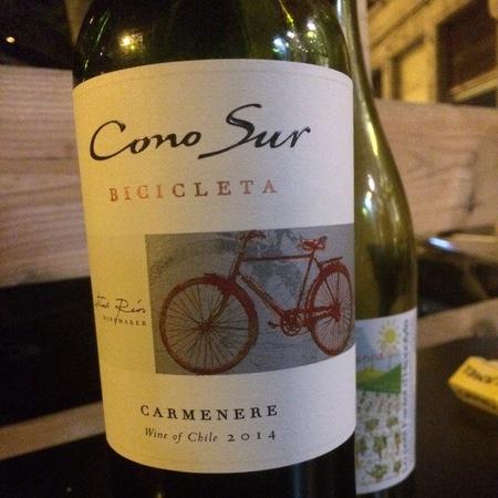 Cono Sur Bicicleta Carménère 2014