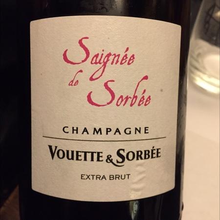Vouette et Sorbée Saignée de Sorbée Extra Brut Rosé Champagne 2014