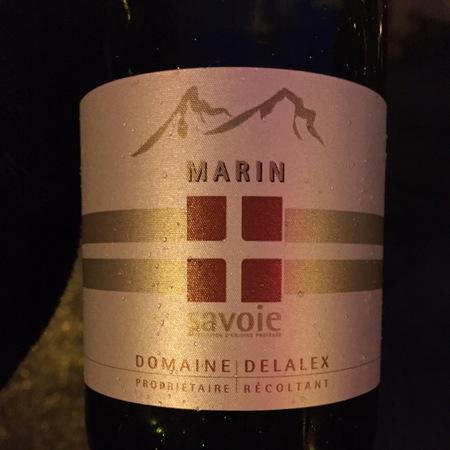 Domaine Delalex Marin Savoie Chasselas 2014