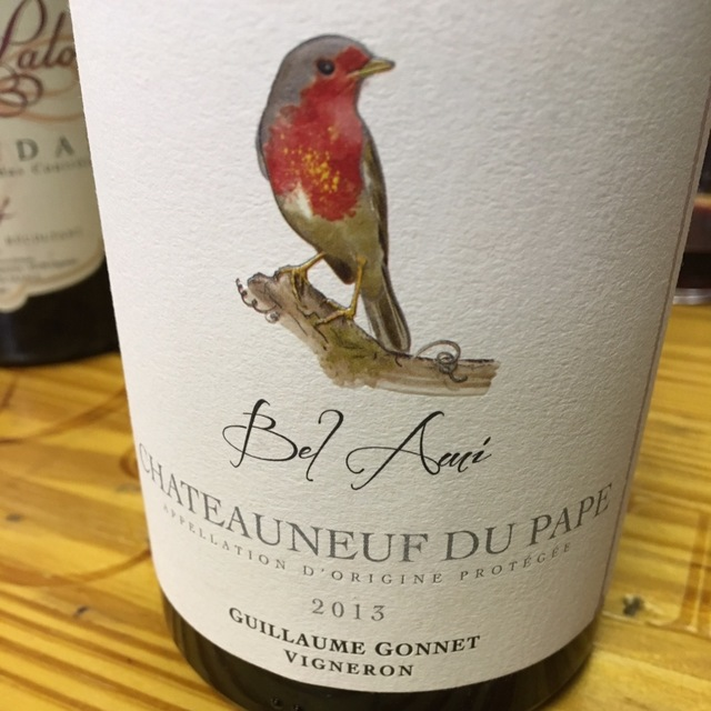 Bel Ami Chateauneuf du Pape Red Rhone Blend 2013