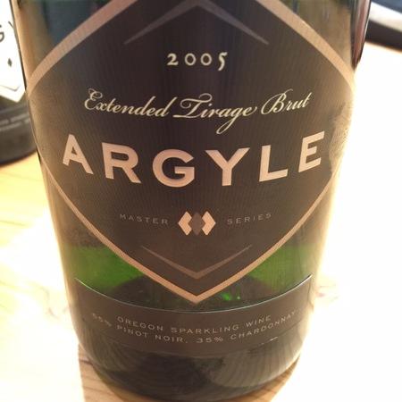 Argyle Master Series Extended Tirage Brut Oregon Pinot Noir Chardonnay 2007