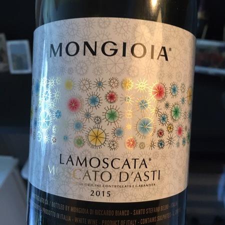Mongioia Lamoscata  Moscato d'Asti 2015