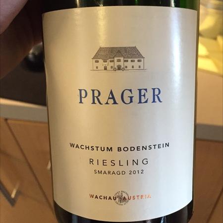 Prager Wachstum Bodenstein Smaragd Riesling 2015
