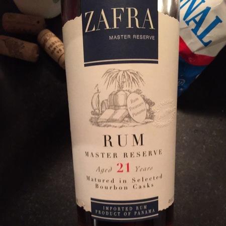 Zafra Master Reserve Rum 21 year NV