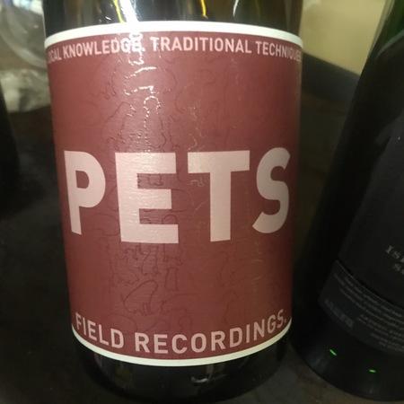 Field Recordings Pets Petite Sirah 2016