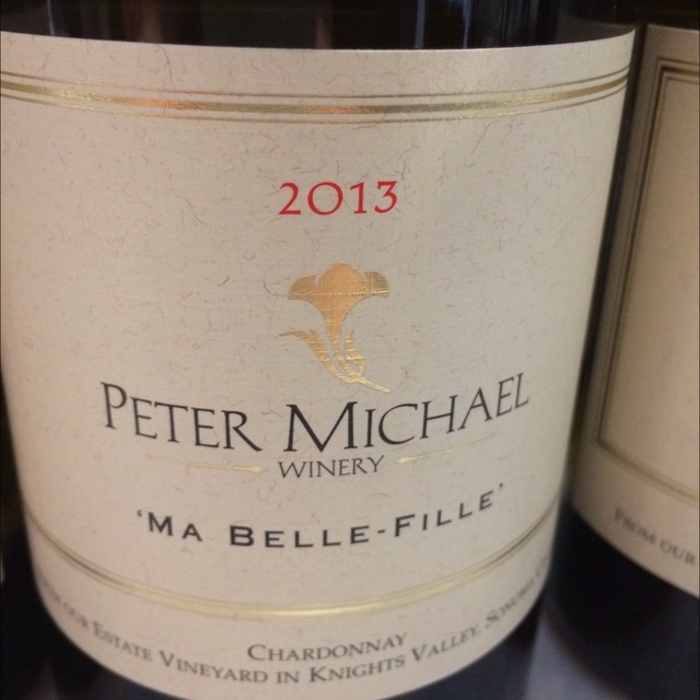 'Ma Belle-Fille' Sonoma County Chardonnay 2013