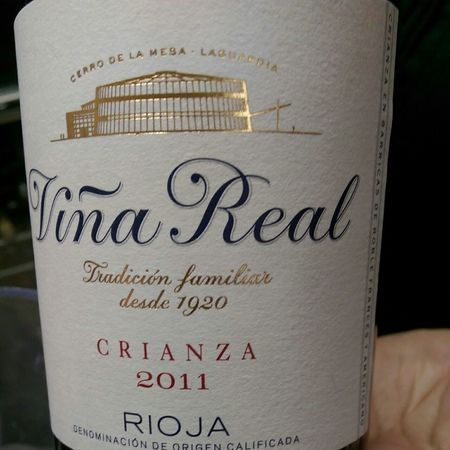 Viña Real (CVNE) Crianza Rioja Tempranillo Blend 2011